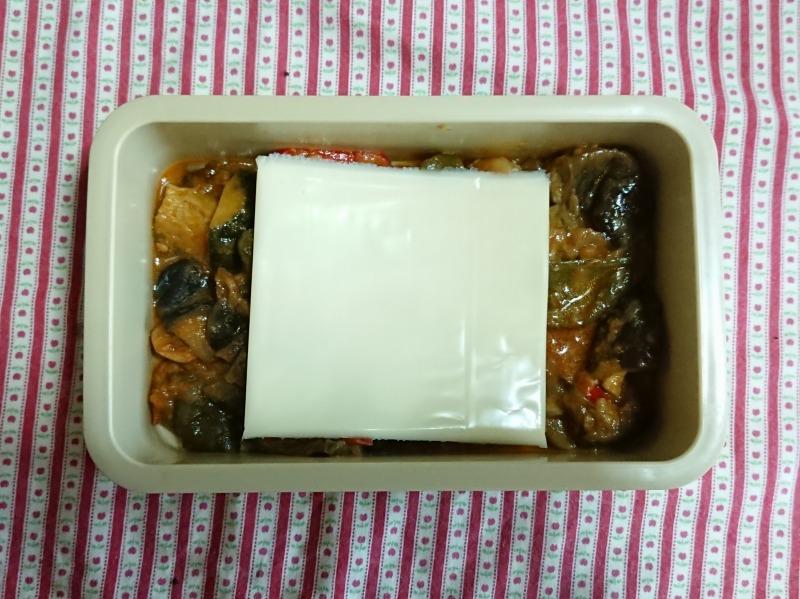 夏野菜カレー弁当2