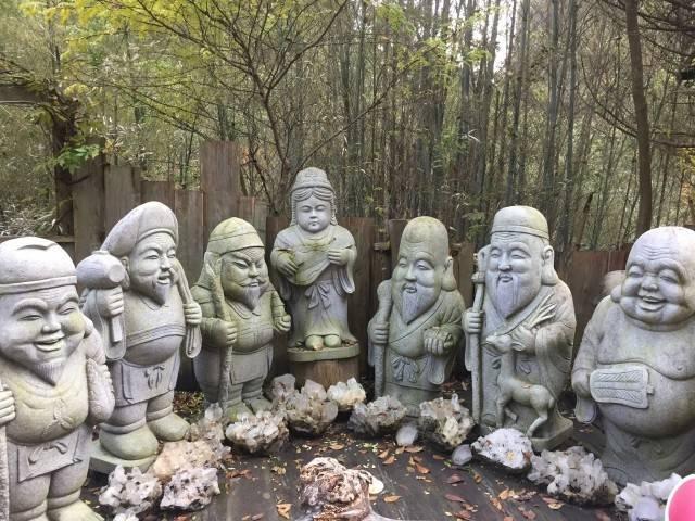 七福神の像