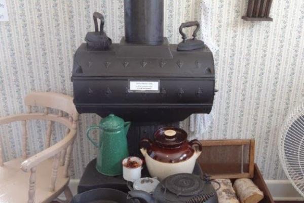 薪ストーブオーブン