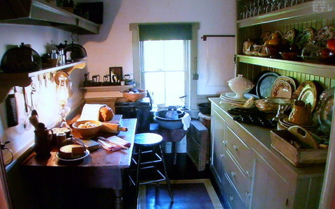 グリーンゲイブルズのキッチン