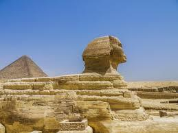 エジプトのスフィンクスの横顔