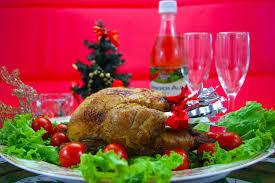 美味しそうなクリスマスのお料理