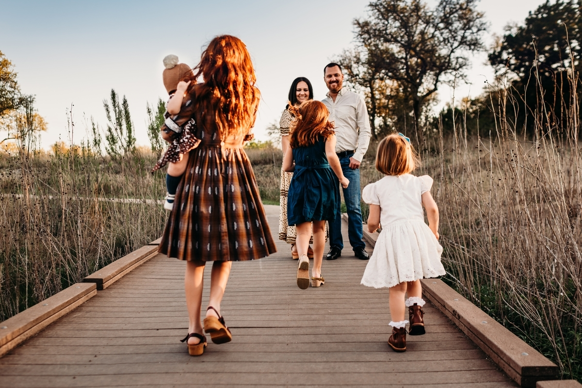 家族と協力する