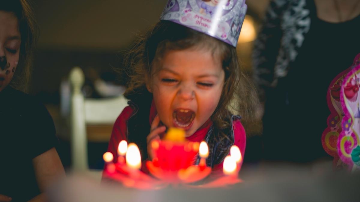 子供の頃の誕生日は幸せ