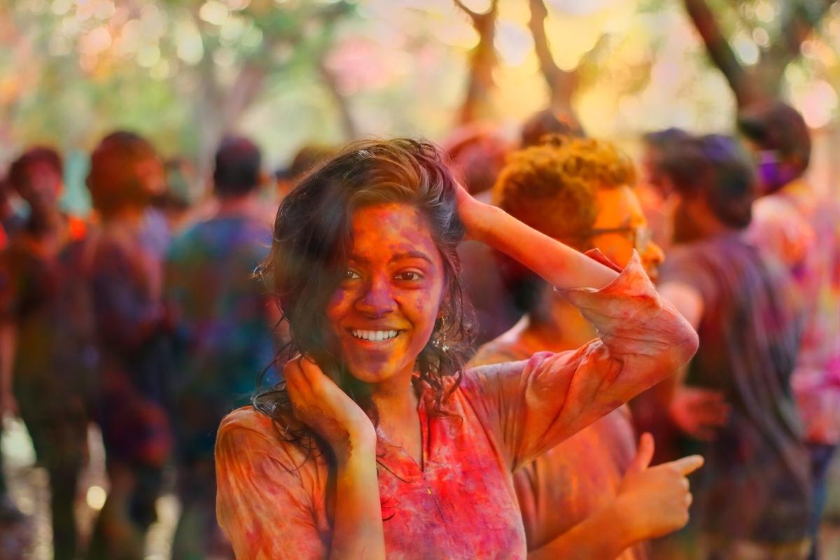 インド人は家族が大好き。笑