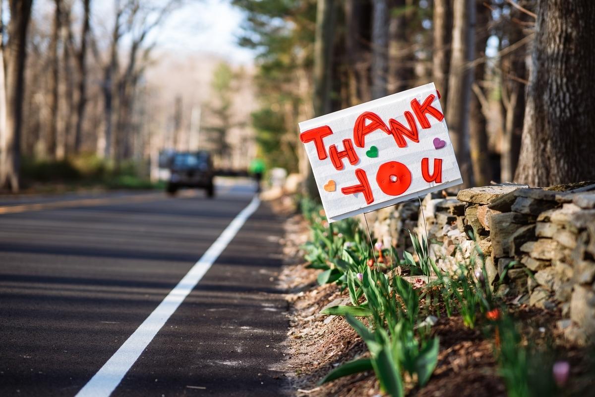 イライラしているけど、感謝を忘れてはいないかい。