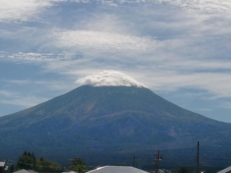 2014年10月6日の富士山