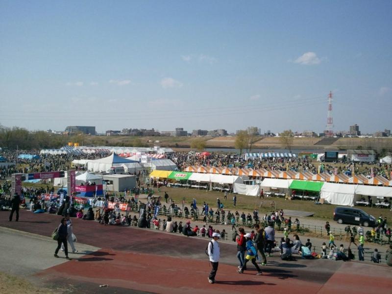 板橋Cityマラソン2014大会会場