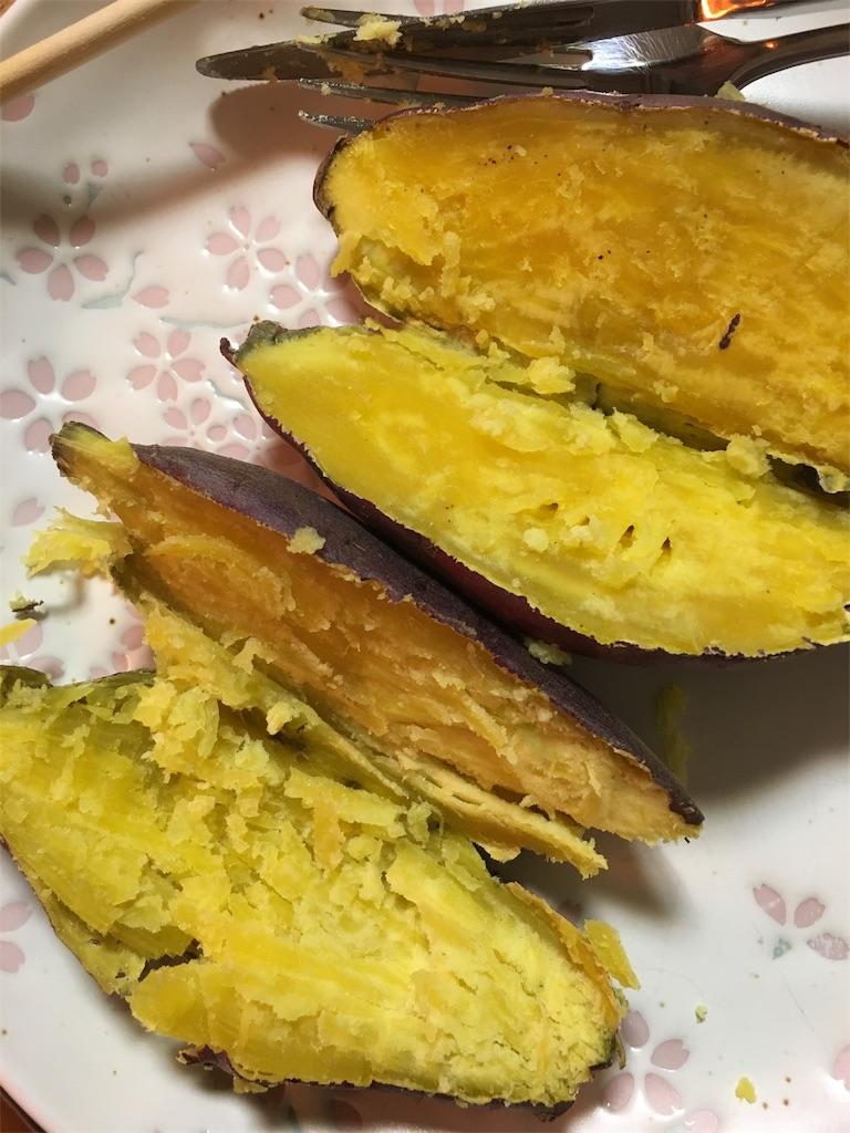 ザイグルボーイで焼いた焼き芋