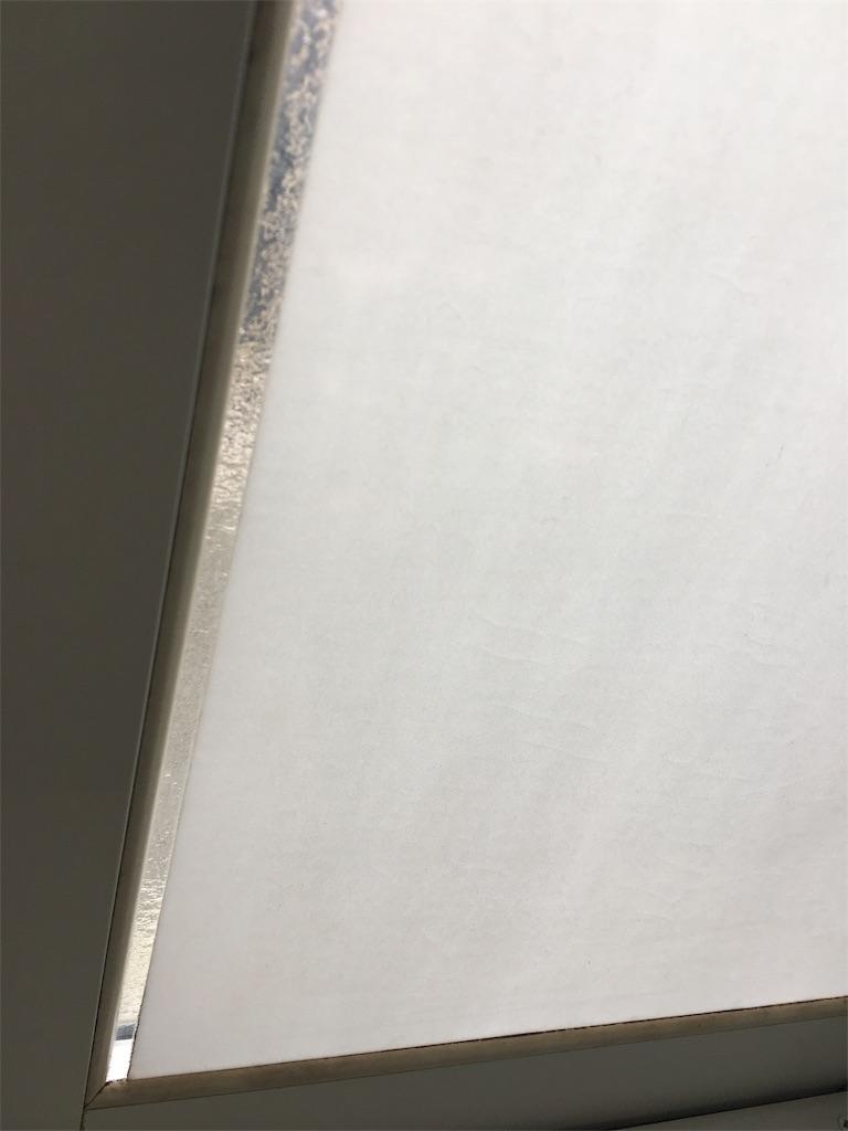 キレイになった浴室の窓とゴムパッキン