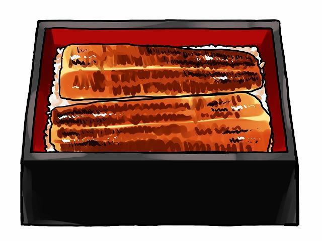 うなぎの蒲焼きイメージ
