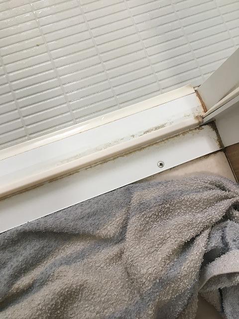 セスキ湿布後の汚れ2