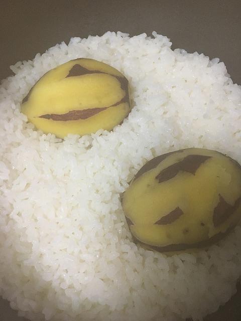 サツマイモご飯1