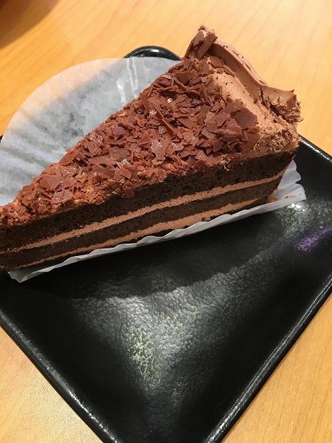 スシロー ショコラケーキリッチ