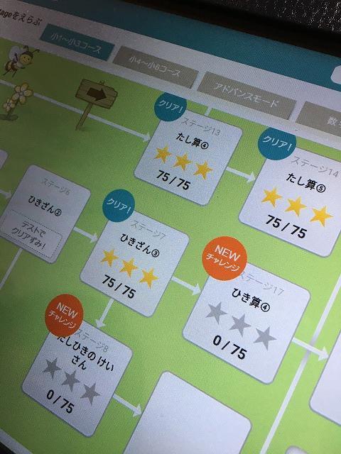 RISU【算数】ステージ画面色々2