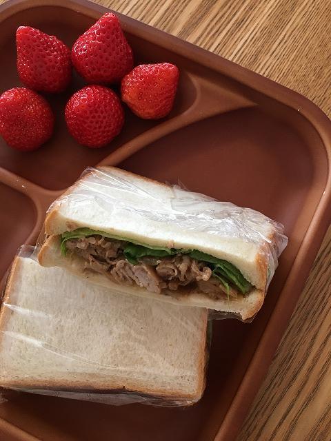 焼肉サンドイッチ