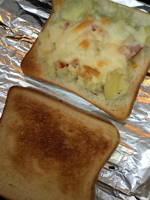 ポテトサラダチーズトースト