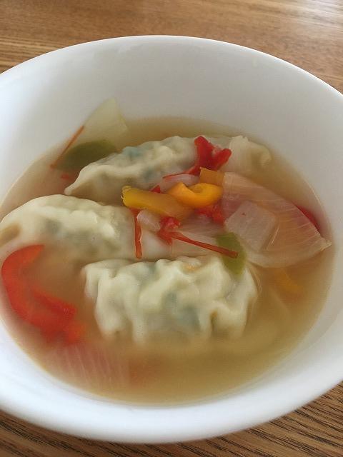 スープ餃子完成