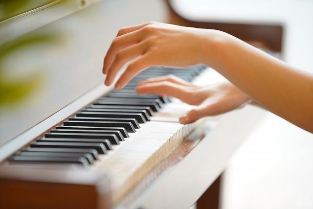 ピアノの練習イメージ