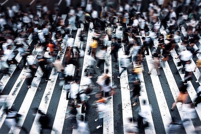 交差点が密になっているイメージ画像