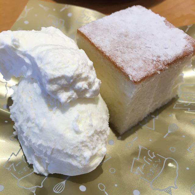スシロー なまらミルクな北海道シフォンケーキ