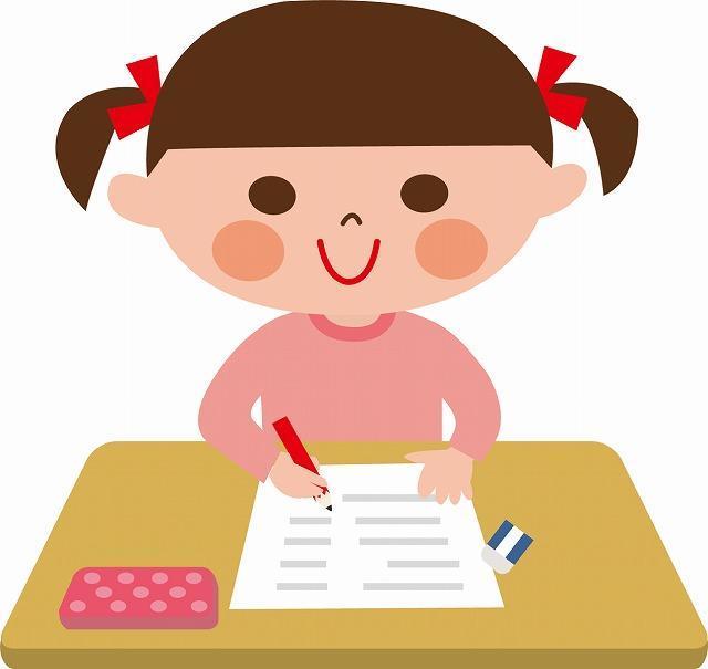 小学生 全国テストのイメージ