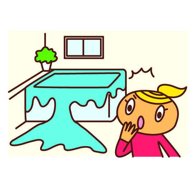 お風呂のお湯あふれそう