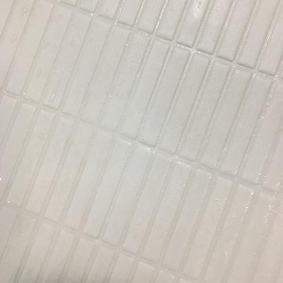 風呂床の黒ずみ、つけ置き後