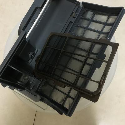 パナソニックのドラム式洗濯機、乾燥フィルター2種類