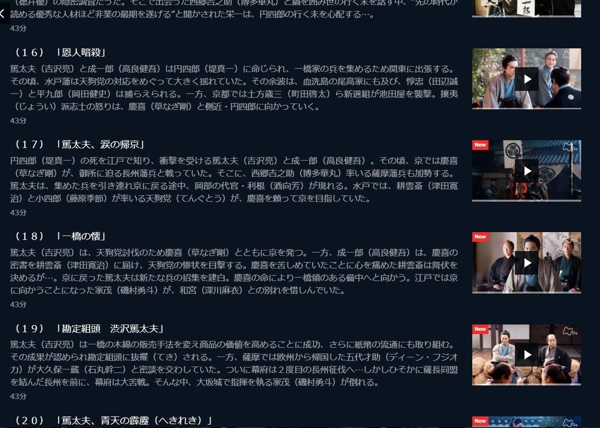 NHK大河ドラマ「青天を衝け」一橋家臣編でリピートしたい3つの話