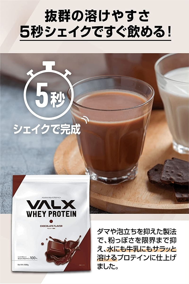 バルクスホエイプロテイン・チョコ味を実食してみた