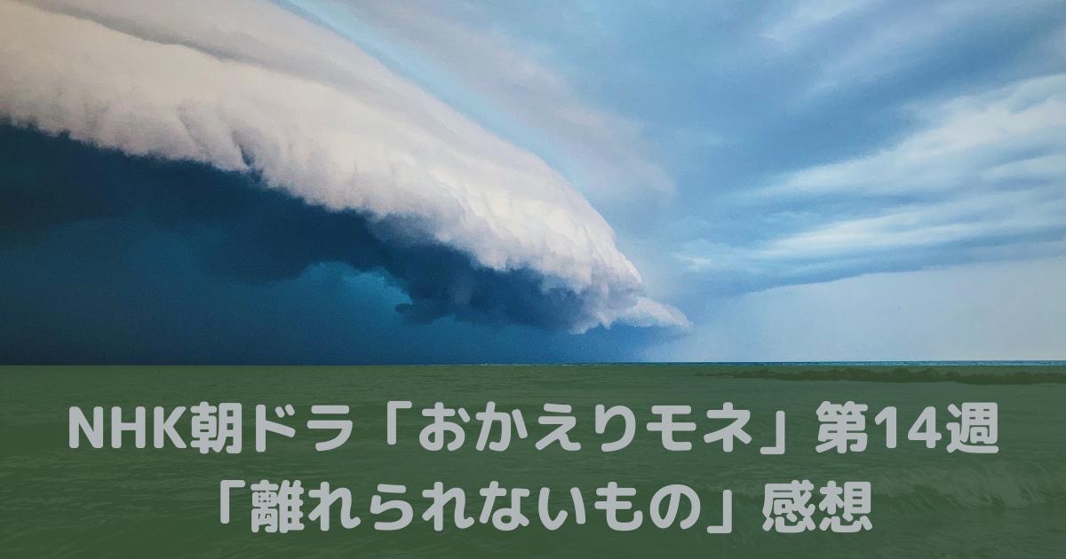 NHK朝ドラ「おかえりモネ」第14週「離れられないもの」感想