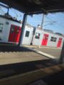 まゆあか電車に出会ってしまった