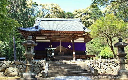 安祥寺の本堂