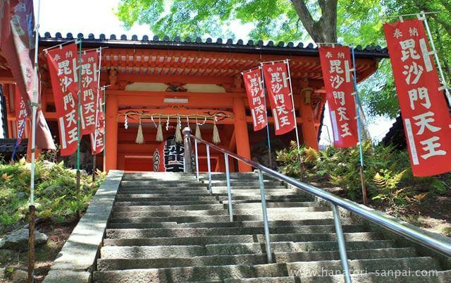 京都の毘沙門堂門跡