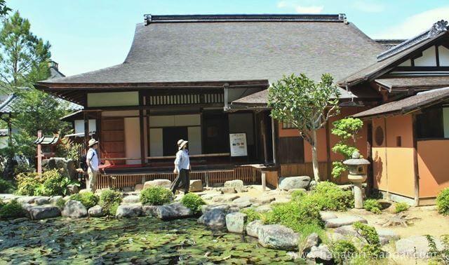奈良の當麻寺中之坊
