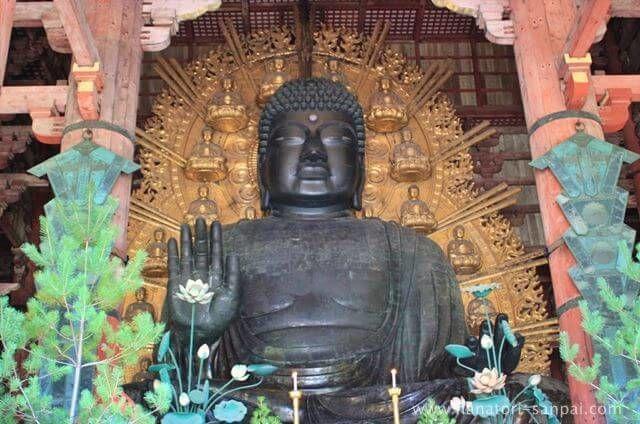 奈良の東大寺の大仏