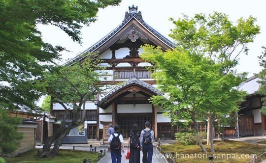 高台寺の庫裡