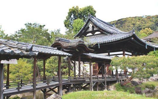 高台寺の観月台