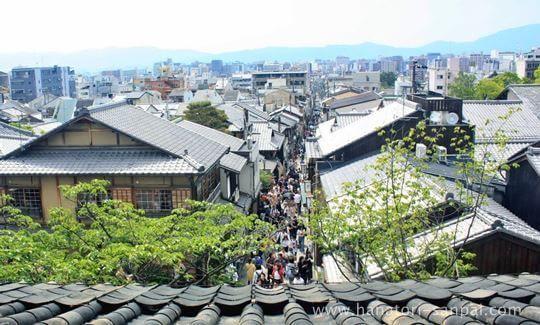 八坂の塔法観寺からの景色