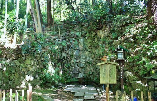 長楽寺の滝