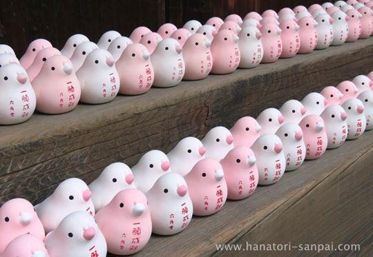 京都頂法寺六角堂の一願成就の置物