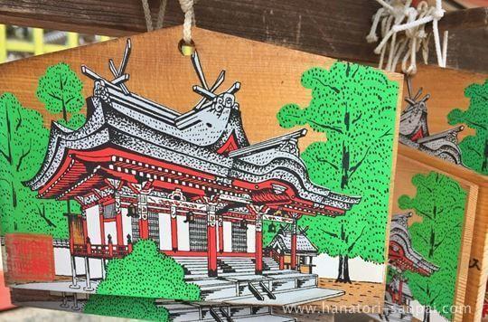 錦織神社の絵馬