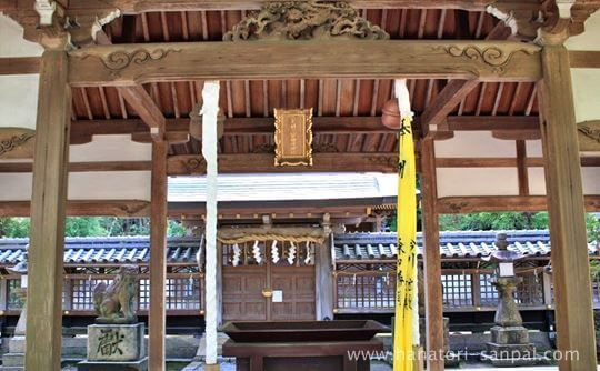 美具久留御魂神社の上拝殿