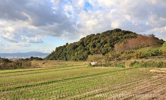 山の辺の道と天皇陵