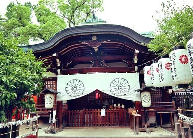 大阪の堀越神社