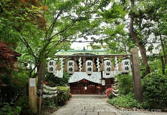 堀越神社の社殿