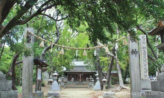 大阪の新屋坐天照御魂神社