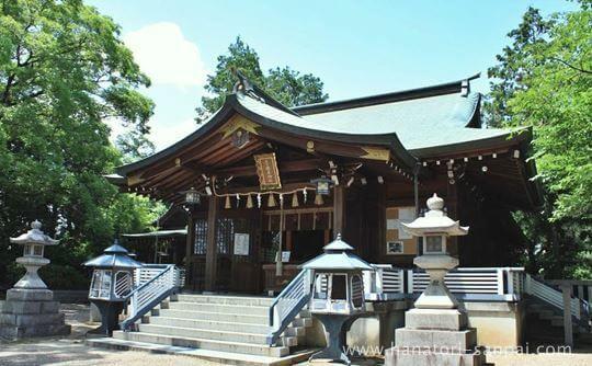 疣水磯良神社の本殿