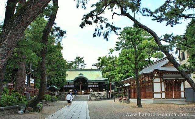 大阪の茨木神社